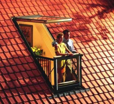 Окно-балкон GDL Cabrio