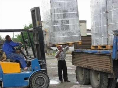 Доставка блоков из газобетона